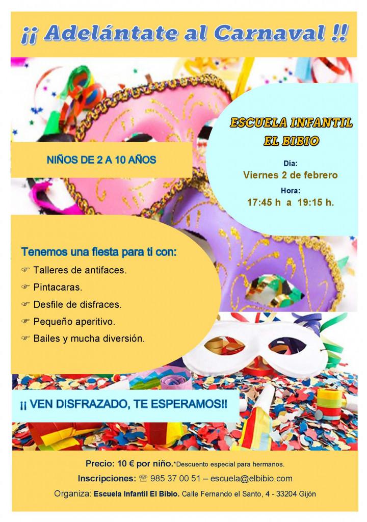 Carnaval 2018 extra escolar